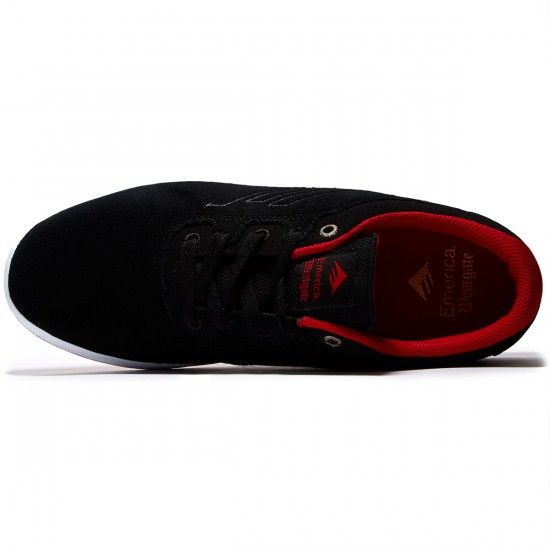 Emerica Westgate CC Shoes - Black/Red - 8.0
