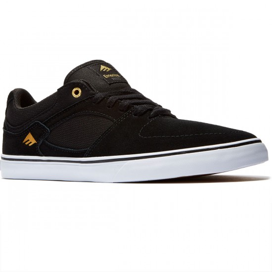 Emerica The Hsu Low Vulc Shoes - Black/White - 8.0
