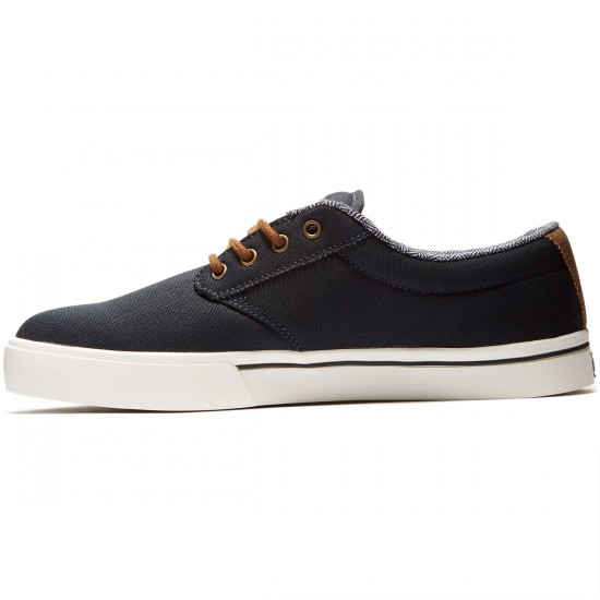 Etnies Jameson 2 ECO Shoes - Navy/Brown/White - 8.5