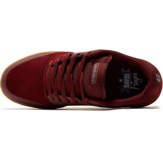 Etnies Marana Shoes - Burgundy/Tan - 8.5