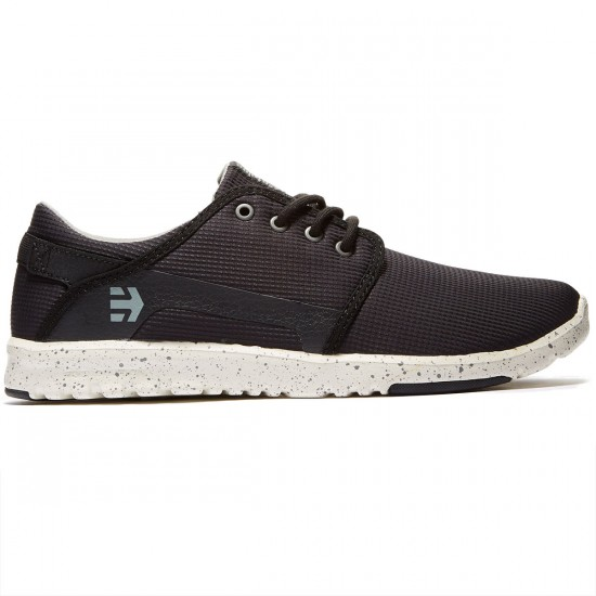 Etnies Scout Shoes - Black/Grey/Grey - 8.0