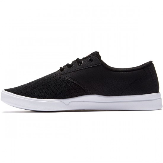 Etnies Jameson SC Shoes - Black/White/Red - 8.5