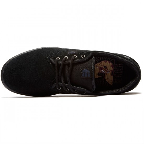 Etnies Jameson SL Shoes - Black/Black/Gum - 8.5