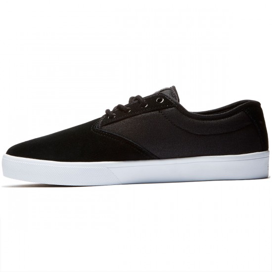 Etnies Jameson SL Shoes - Black/White/Gum - 8.5