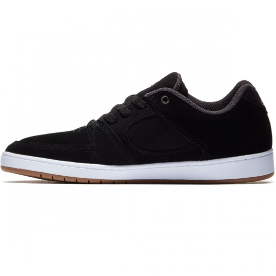 eS Accel Slim Shoes - Black/White - 10.0