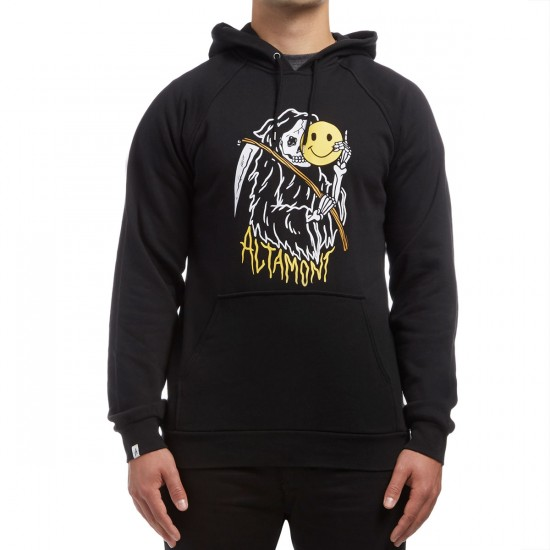 Altamont Zero Six Pullover Fleece Hoodie - Black