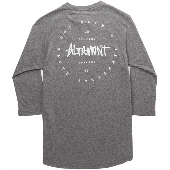Altamont Minor Raglan T-Shirt - Grey/Heather