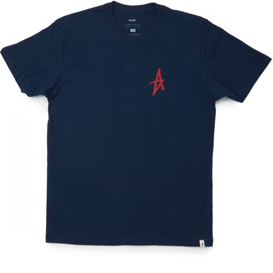 Altamont Mini Decade Icon T-Shirt - Navy/Red