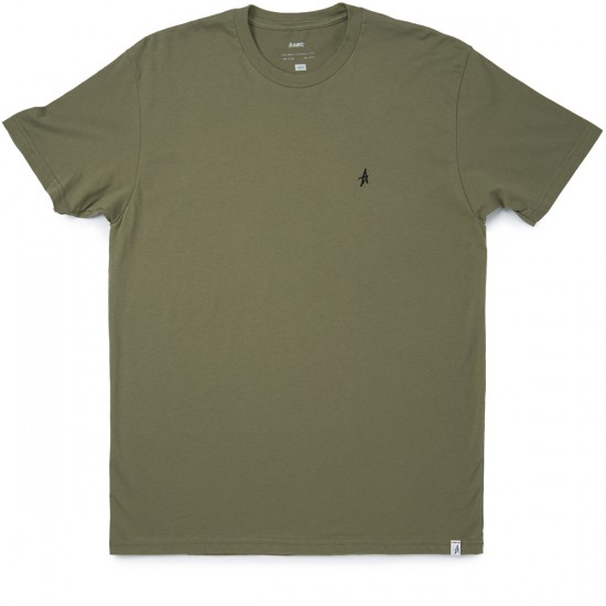 Altamont Micro Embroidery T-Shirt - Military