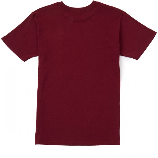 Emerica Stimulous T-Shirt - Burgundy