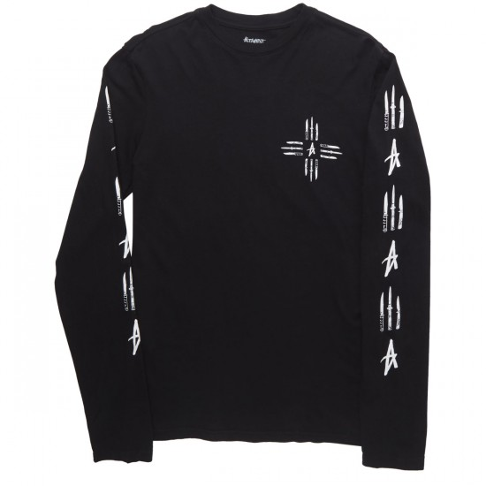 Altamont Knives Out Long Sleeve T-Shirt - Black