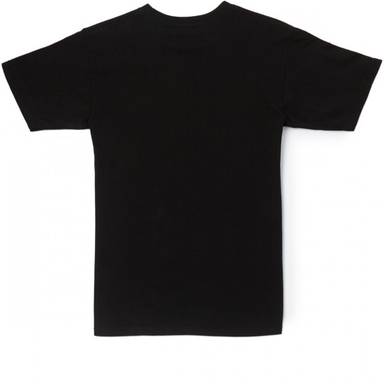 Etnies Mini Icon T-Shirt - Black/Red