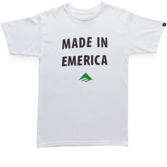 Emerica Made In Emerica T-Shirt - White