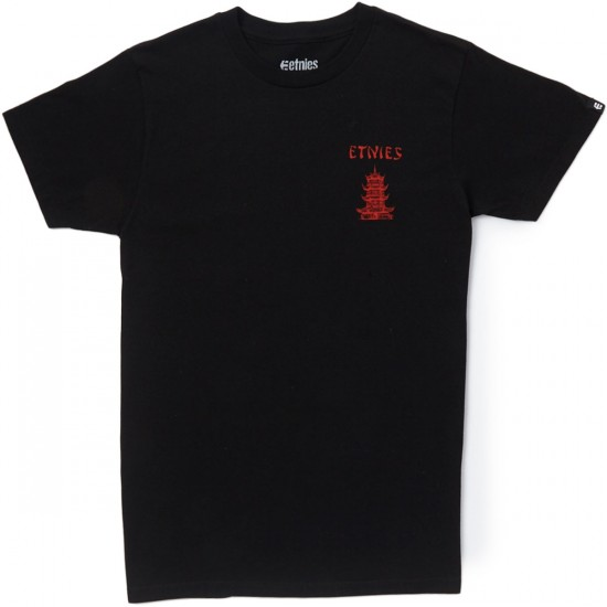 Etnies Stay Hungry T-Shirt - Black
