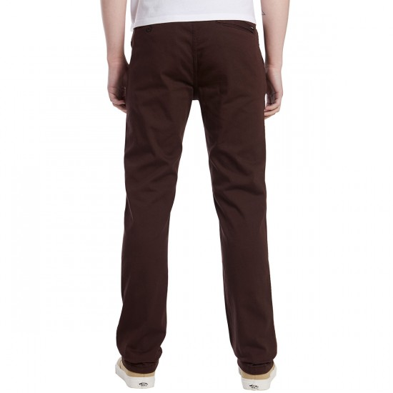 Altamont A/969 Chino Pants - Dark Brown - 30 - 32