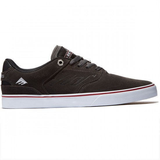Emerica X Indy The Reynolds Low Vulc Shoes - Dark Grey - 8.0