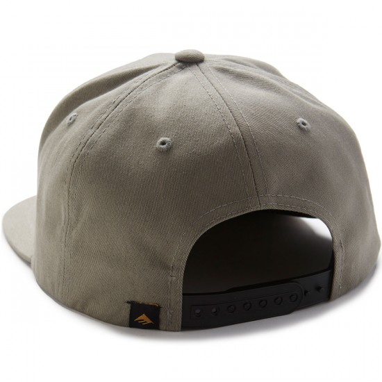 Emerica Triangle Snapback Hat - Grey