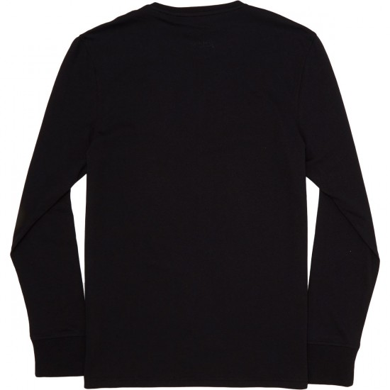 Altamont Moral Panic Long Sleeve T-Shirt - Black