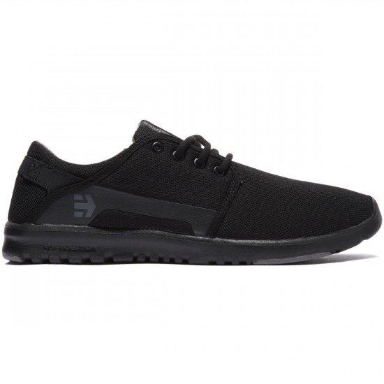 Etnies Scout Shoes - Dark Black