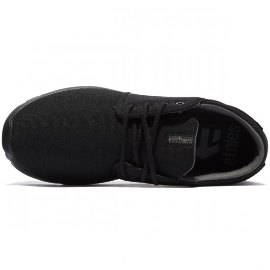 Etnies Scout Shoes - Dark Black - 8.0