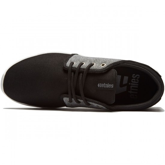 Etnies Scout Shoes - Black/Charcoal/Silver - 8.0