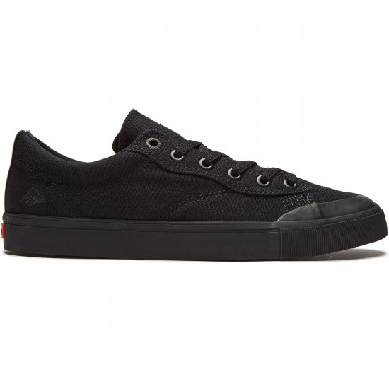 Emerica Indicator Low Shoes - Black/Black - 8.0