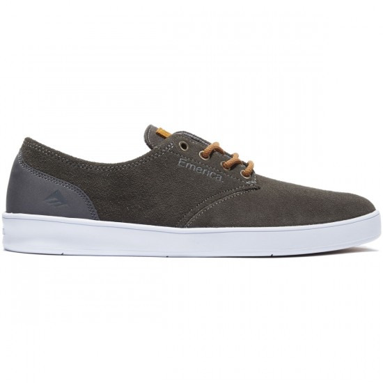 Emerica The Romero Laced Shoes - Grey/Brown - 8.0