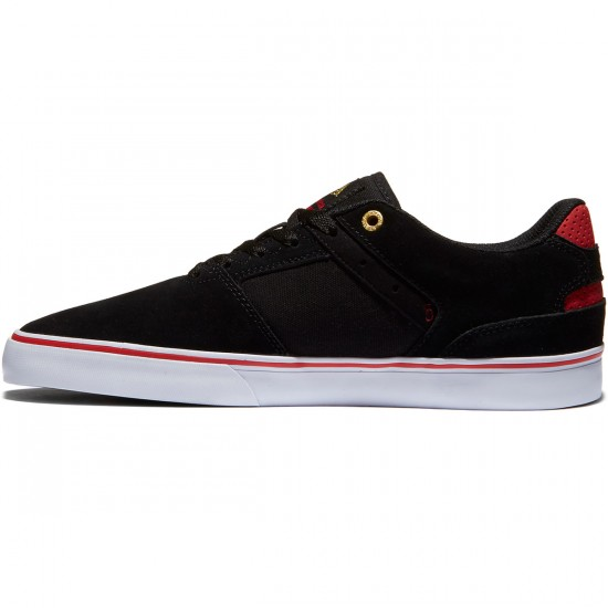 Emerica The Reynolds Low Vulc Shoes - Black/White/Red - 8.0