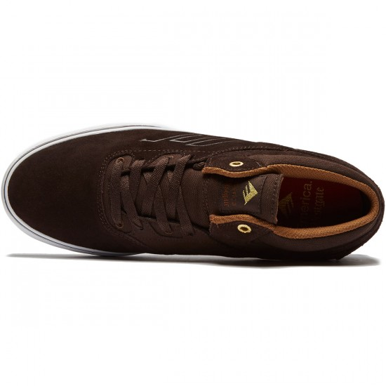 Emerica Westgate Mid Vulc Shoes - Dark Brown - 8.0