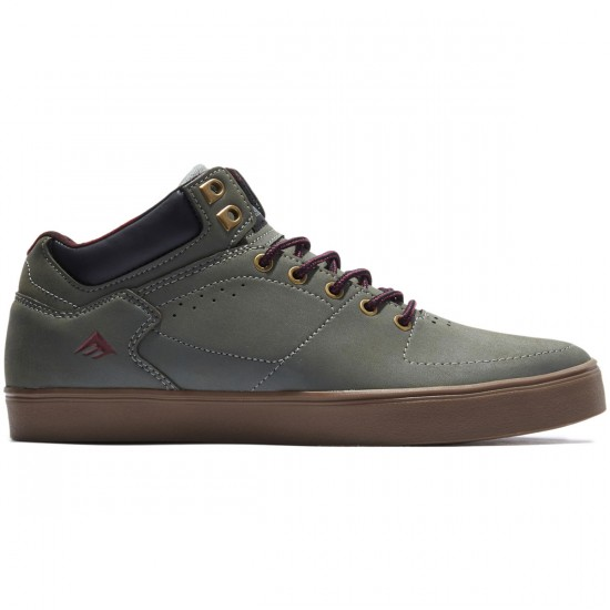 Emerica The Hsu G6 Shoes - Grey/Gum/Red - 8.0