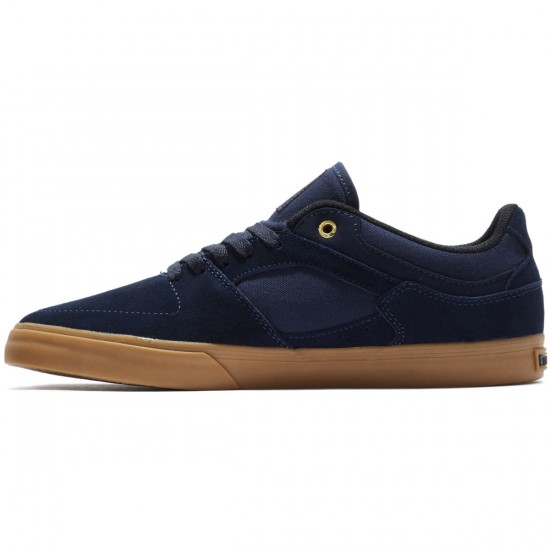 Emerica The Hsu Low Vulc Shoes - Navy/Gum - 8.0