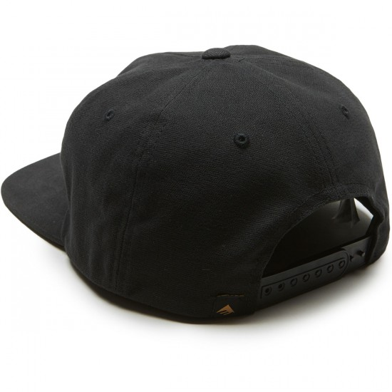Emerica Made In Snapback Hat - Black