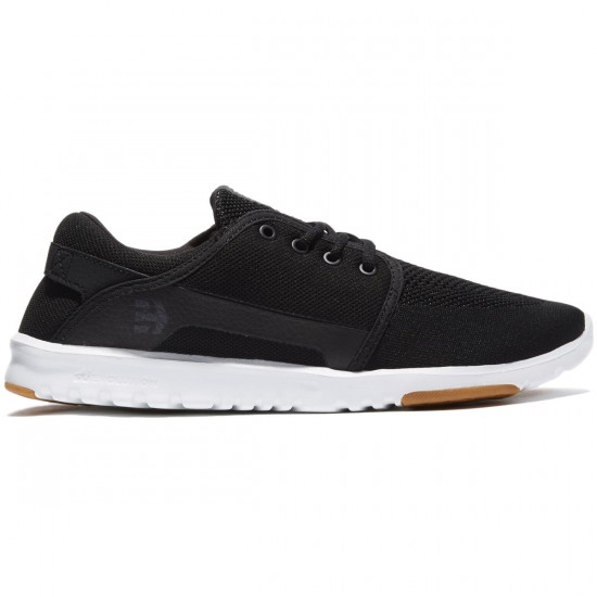 Etnies Scout Shoes - Black/White/Gum - 8.0