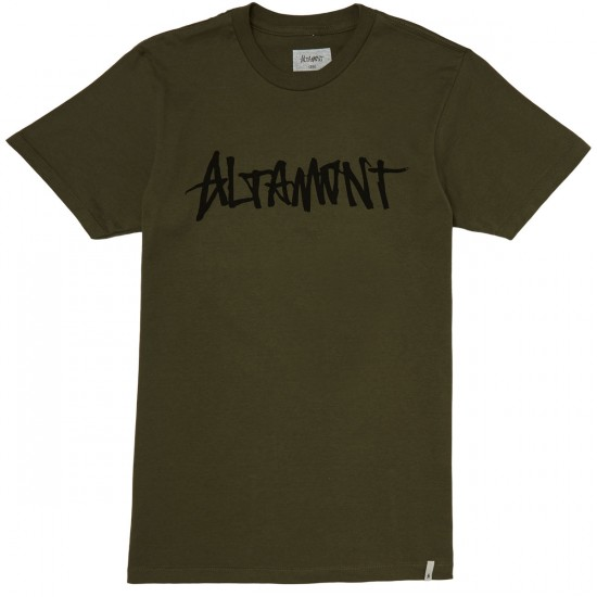 Altamont One Liner T-Shirt - Military