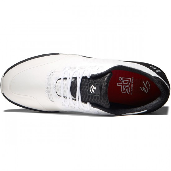 eS Sesla Shoes - White/Black - 8.5