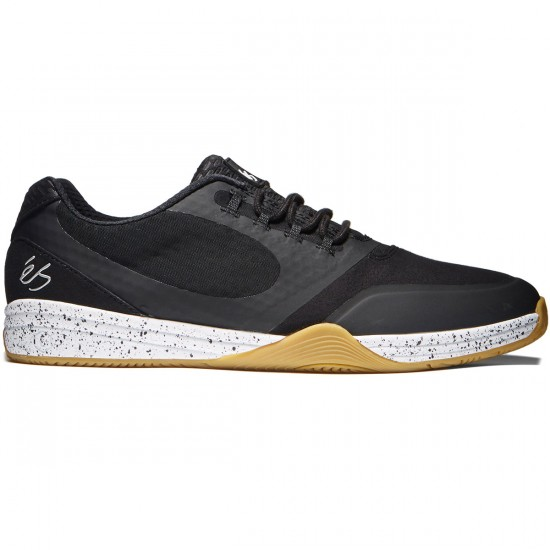 eS Sesla Shoes - Black/White/Gum - 8.0