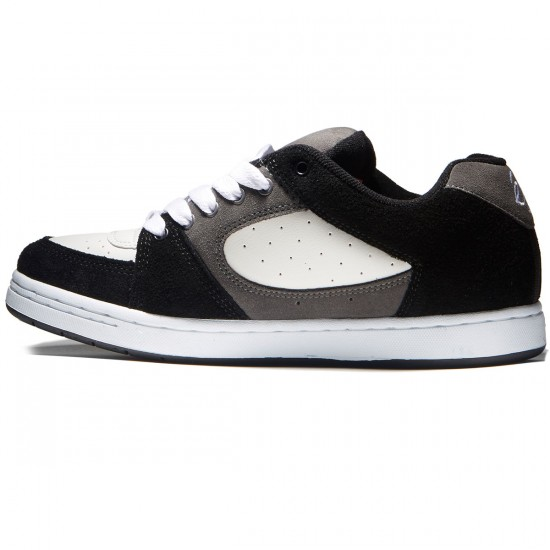eS Accel OG Shoes - Black/Grey/White - 8.0
