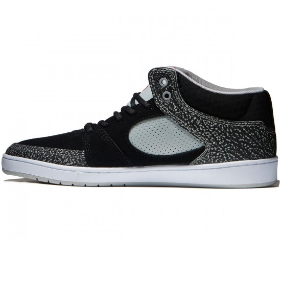 eS Accel Slim Mid Shoes - Black/Grey - 8.0