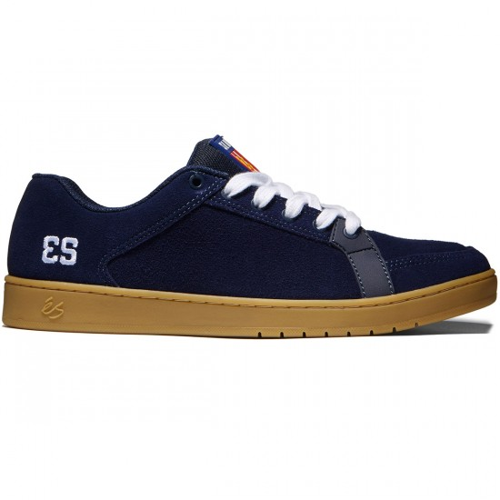 eS Sal Shoes - Navy/Gum/White - 8.0