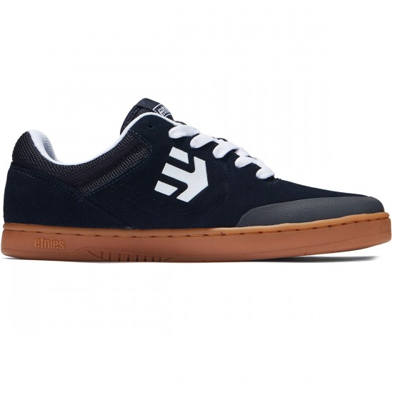 Etnies Marana Shoes - Navy/White/Gum - 8.0