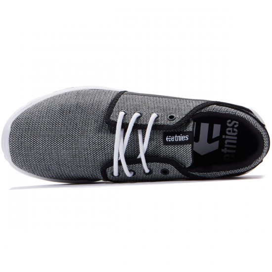 Etnies Scout Shoes - Black/Black/White - 8.0
