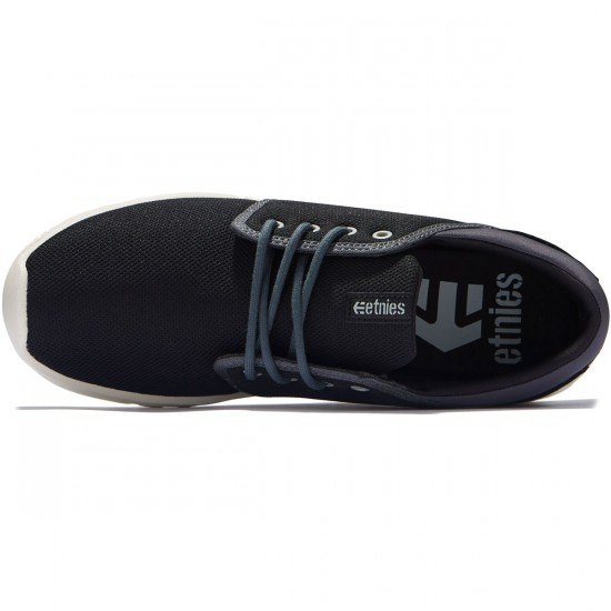Etnies Scout Shoes - Black/Dark Grey/Grey - 8.0