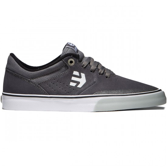 Etnies Marana Vulc Shoes - Grey/Black/White - 8.0