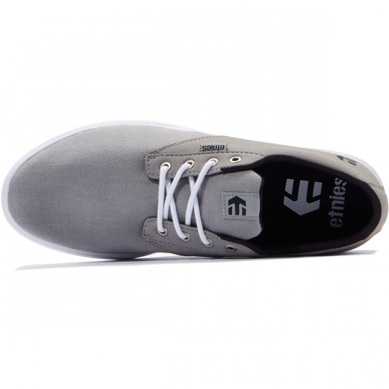 Etnies Jameson SC Shoes - Grey/Black/White - 8.0