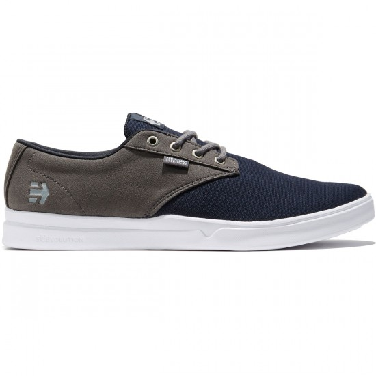 Etnies Jameson SC Shoes - Navy/Grey - 8.0