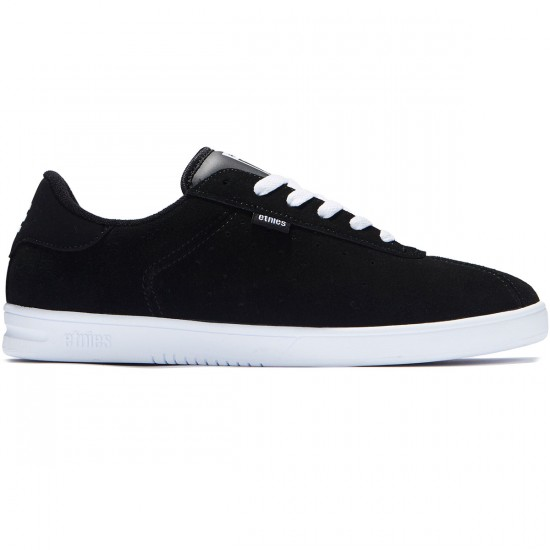 Etnies The Scam Shoes - Black/White - 8.0