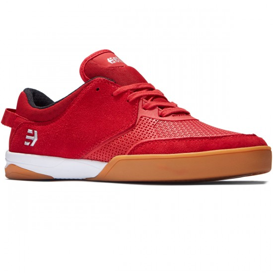 Etnies Helix Shoes - Red - 8.0
