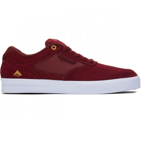 Emerica Empire G6 Shoes - Burgundy/White - 8.0