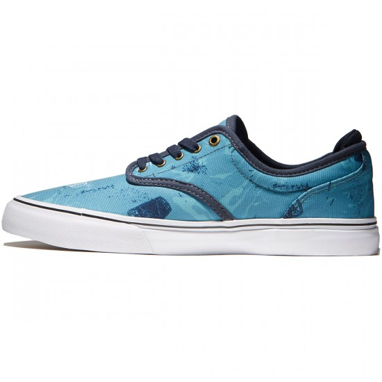 Emerica Wino G6 Shoes - Blue/White/Navy - 8.0