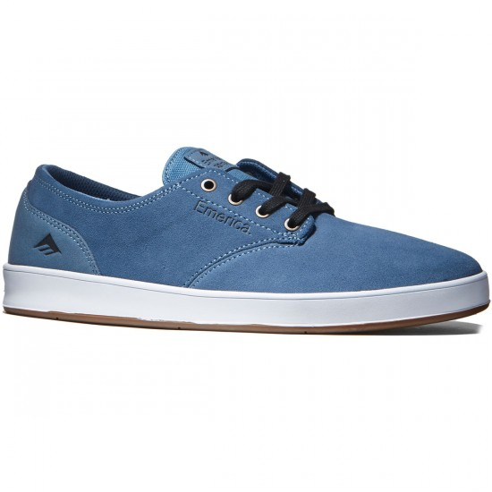 Emerica The Romero Laced Shoes - Blue/White/Gum - 8.0